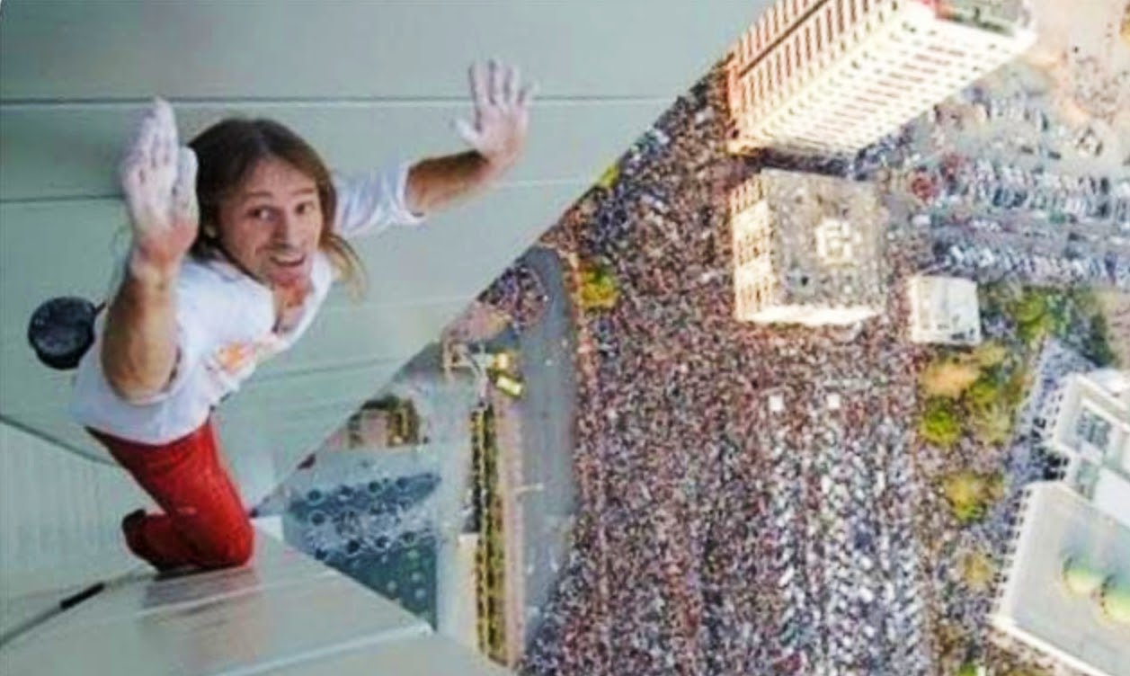 Alain Robert is the 'French Spider-Man'.