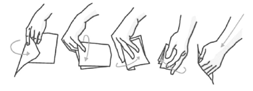 Fold documents before passing them