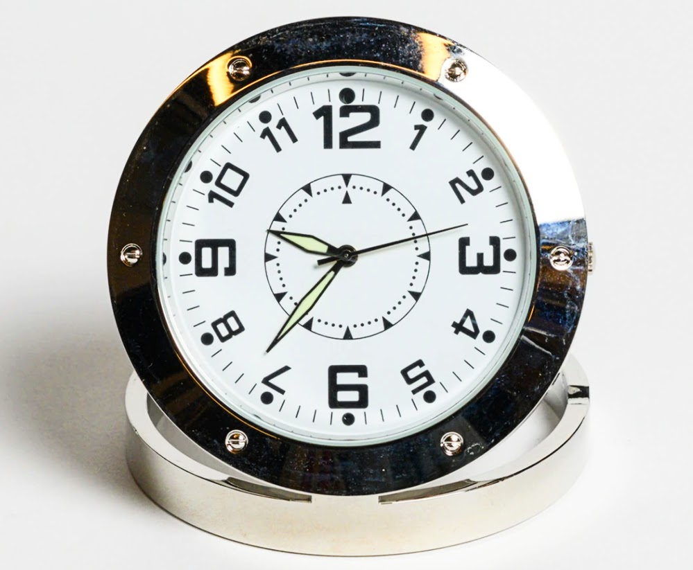 Spy clock from the SPYSCAPE shop