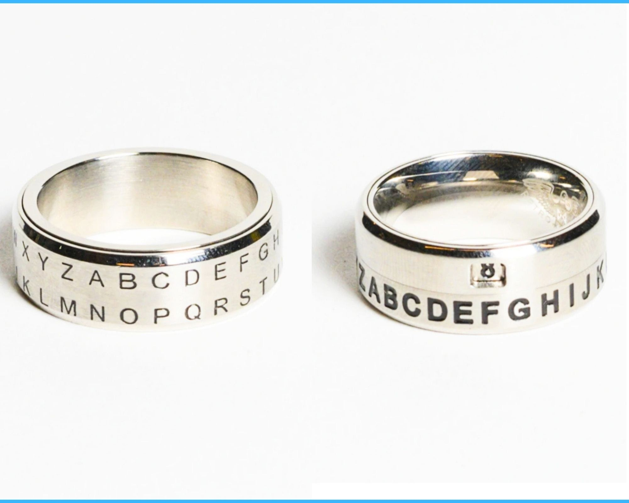 decoder rings from the SPYSCAPE shop