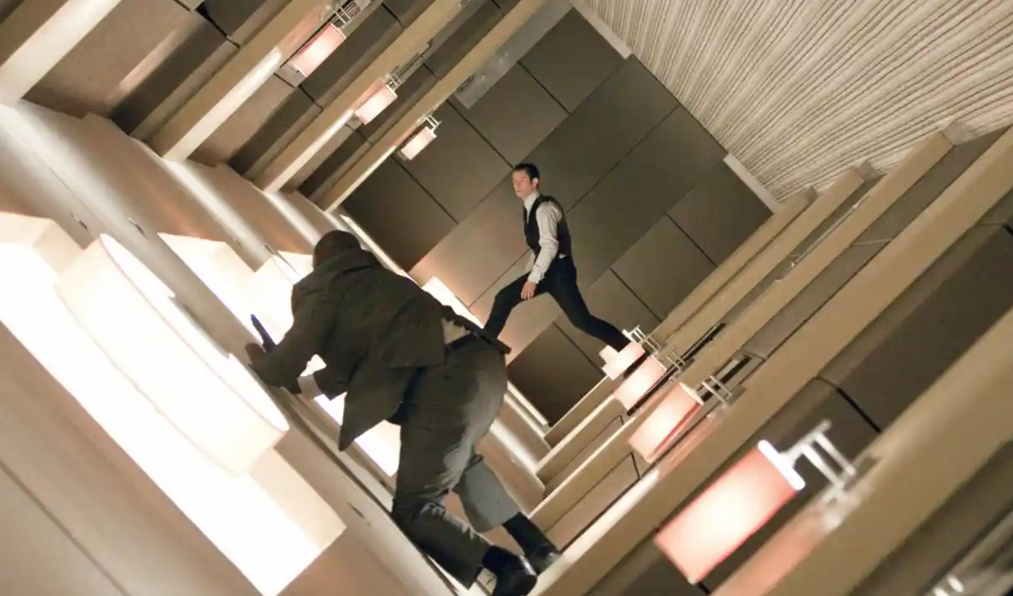 Inception with Leonardo di Caprio