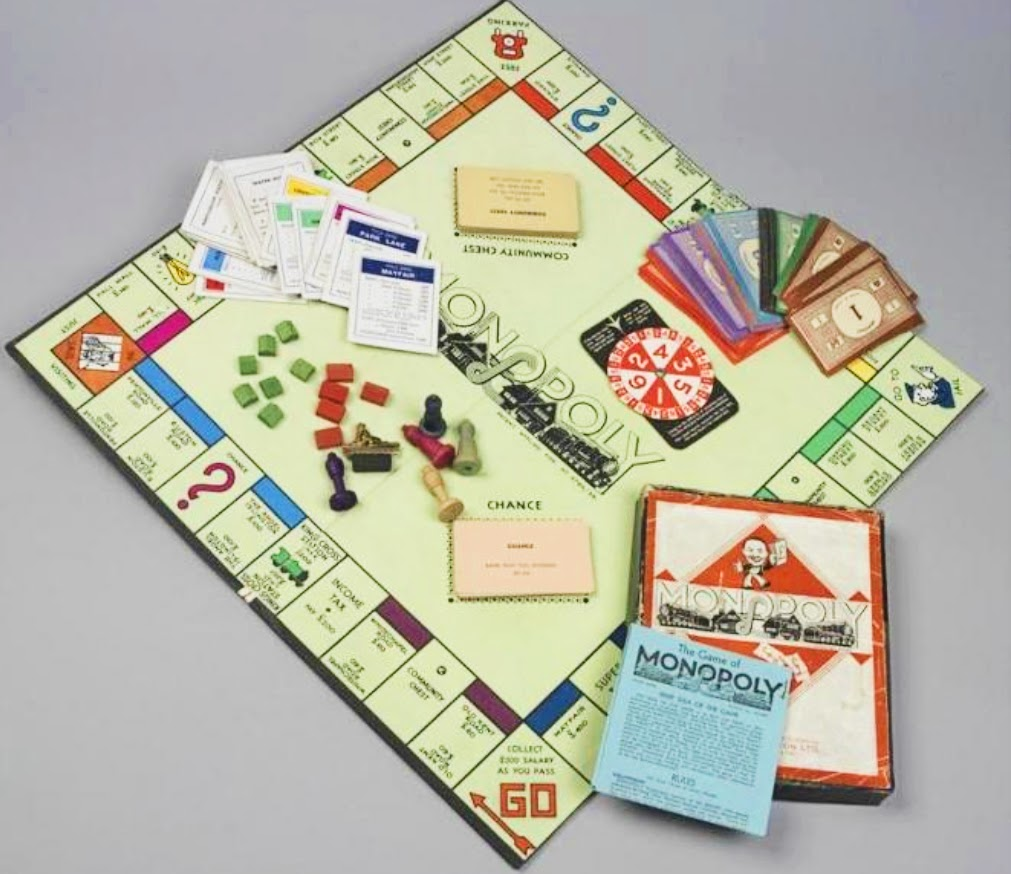 Monopoly boards hid maps and money for POW in WWII