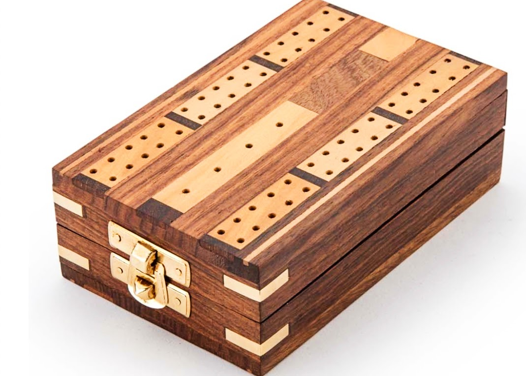 Cribbage boards hid tools for POWs in WWII