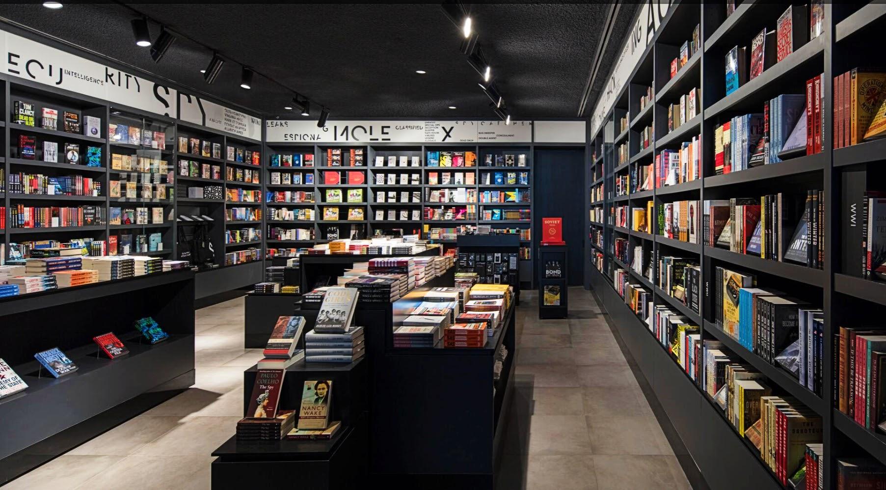 SPYSCAPE HQ Bookshop