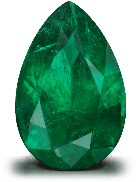 Panjshir Valley pear-shaped emerald