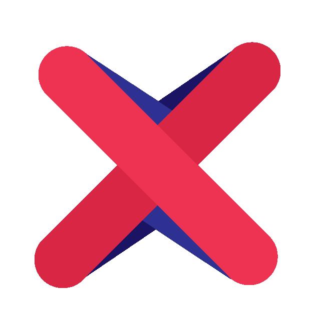 BrainXchange Logo Red X