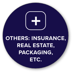 other icon - insurance, real estate, packaging, etc.