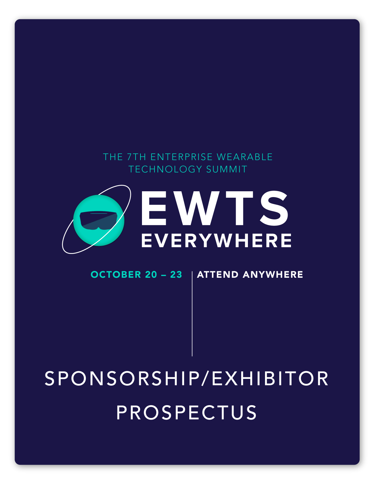 cover image of sponsorship exhibitor prospectus for tech summit