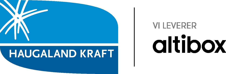 Haugaland Kraft logo med altibox