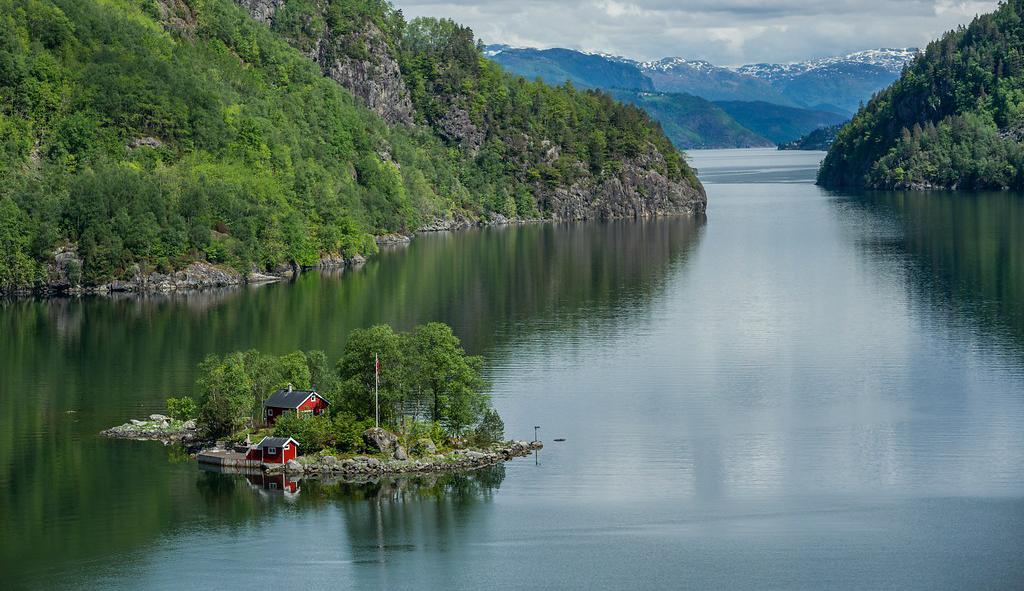 Bilde av Lovrafjorden