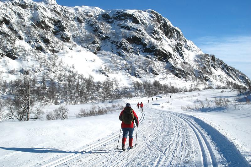Menneske på ski