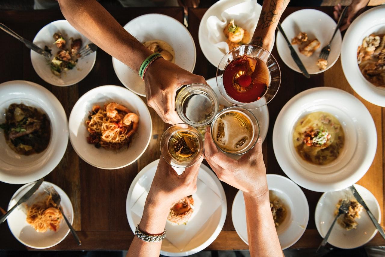 Bilete av mat og drikke