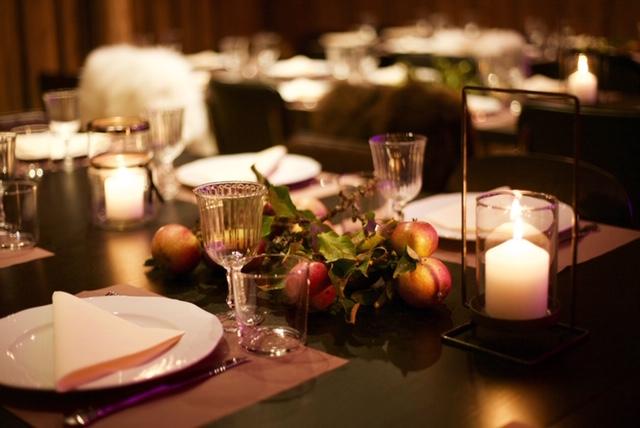 Pådekka bord