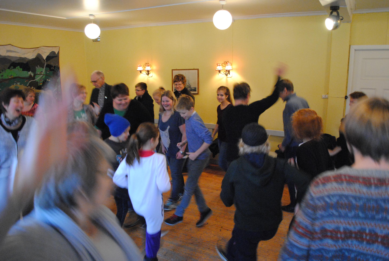 Alltid gøy på Folkemusikk og dansehelg, Ryfylkemuseet