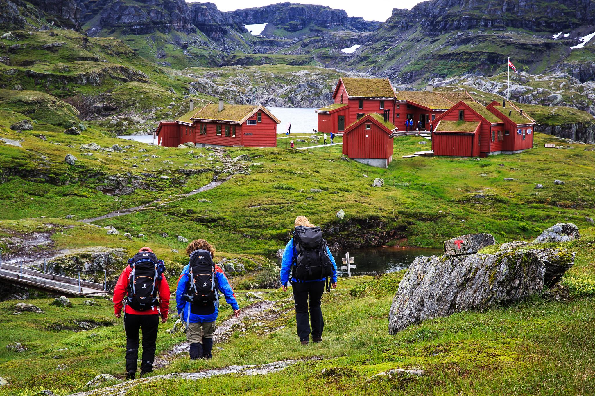 Stranddalen Turisthytte. Foto: Marius Vervik