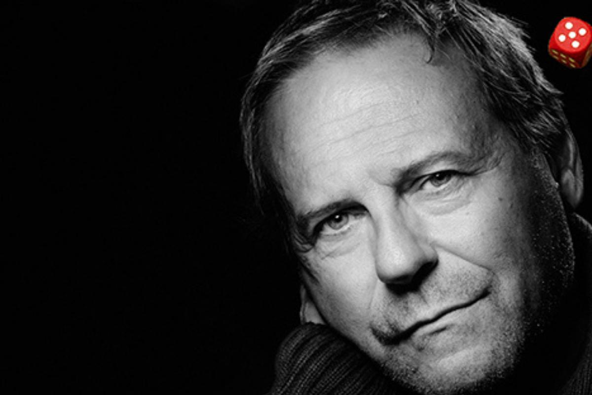 Portrett i svart/hvitt av Svein Tindberg