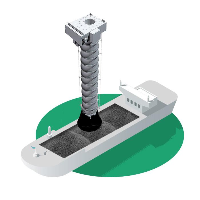 Vortex Barge Loading Animation Still