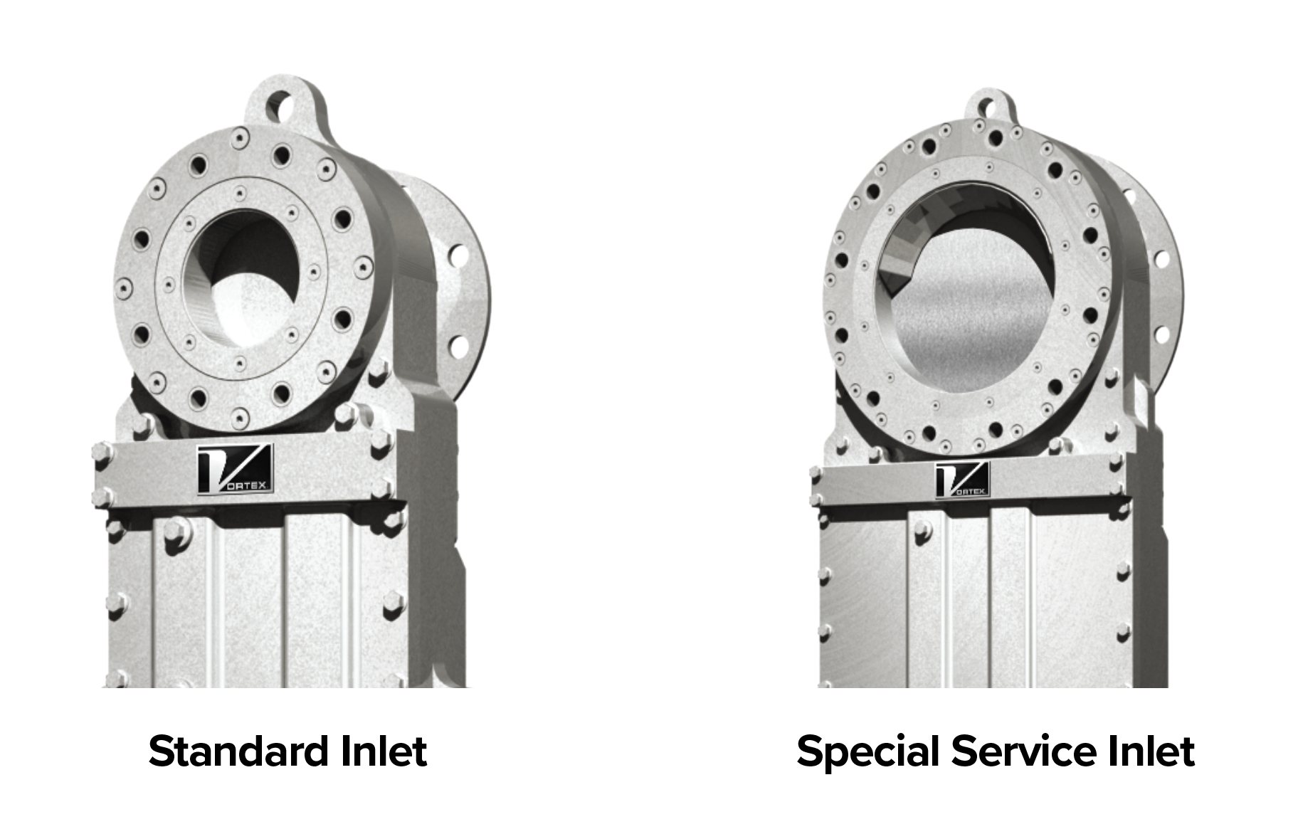 HDP Options. 1. Standard Inlet, 2. Special Service Inlet