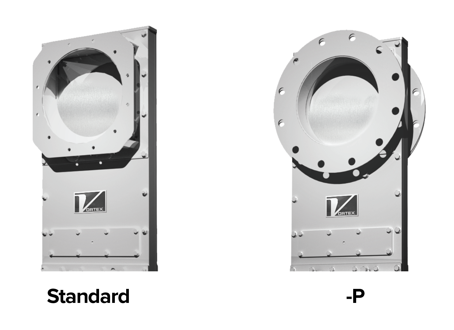 Clear Action Gate options. 1. Standard, 2. -P