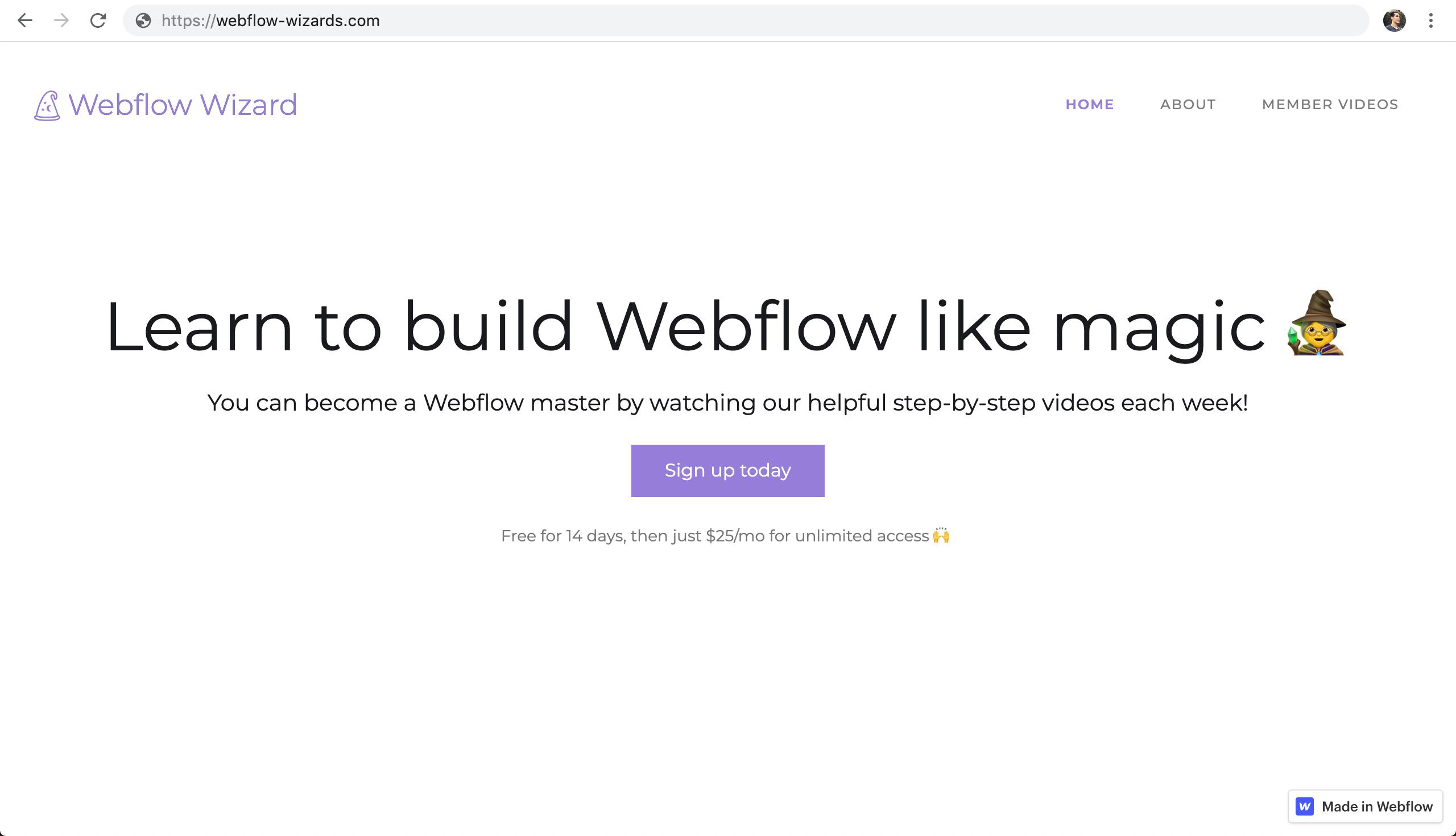 🚪Creating a membership website on Webflow