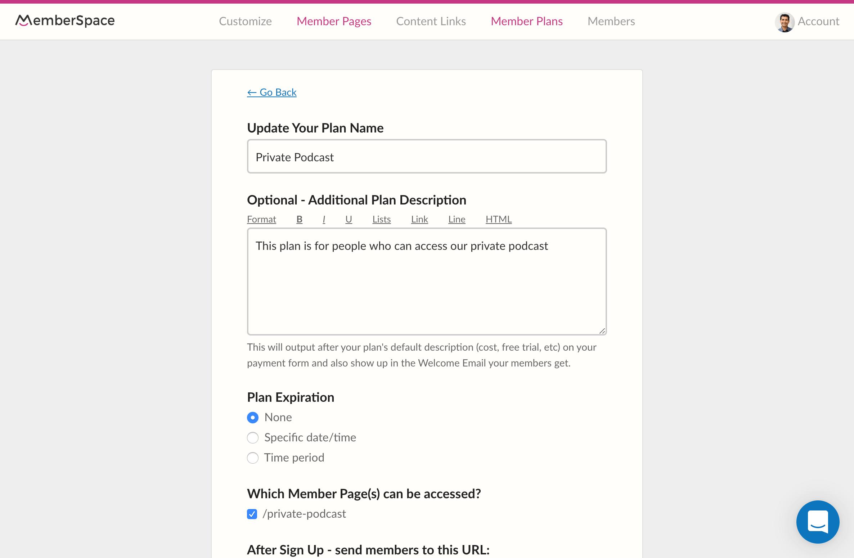 5 - MemberSpace - Add Member Plan form.png