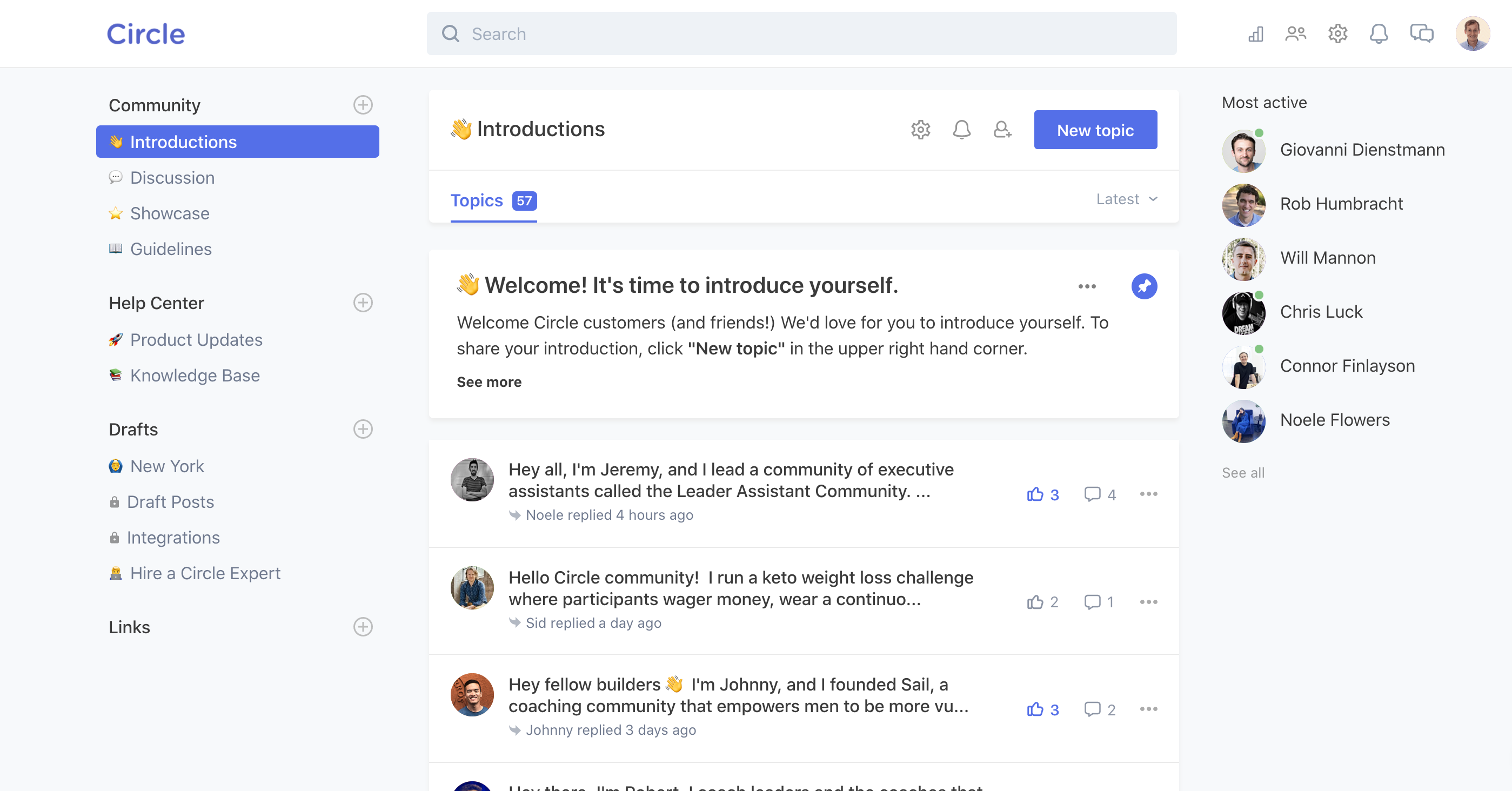 Build tools with Circle - The modern community platform for creators