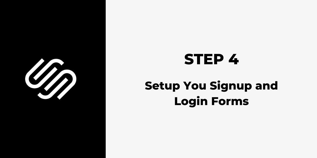 Squarespace Membership Site - Step 4