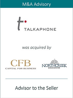 PRAIRIE REPRESENTS TALK-A-PHONE IN JOINING FORCES WITH CAPITAL FOR BUSINESS