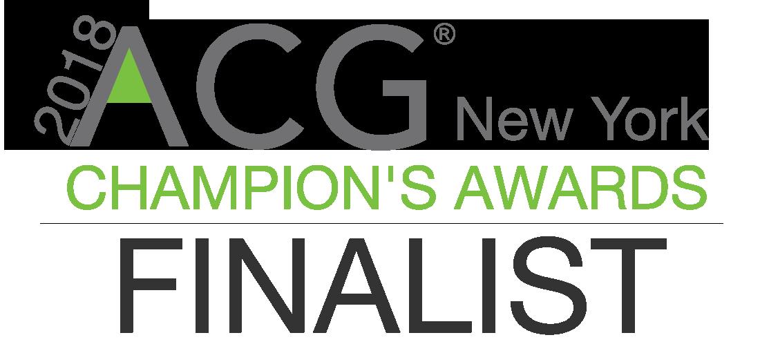 Prairie Announced as Finalist of the 8th Annual ACG Champion's Awards