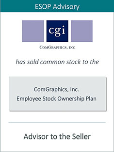 Prairie is Pleased to Announce the Sale of ComGraphics, Inc. to an Employee Stock Ownership Plan