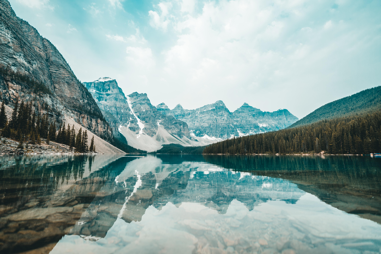 A beautiful lake in Canada