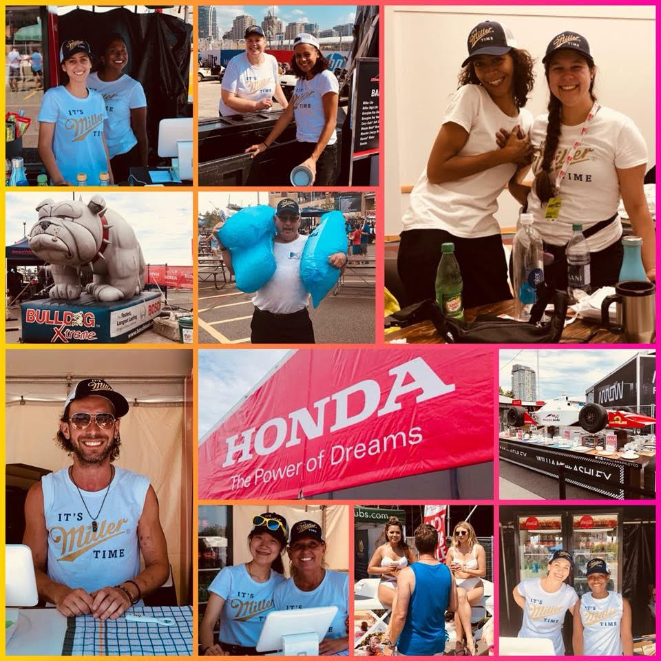 Staff Shop employees at Honda Indy Toronto