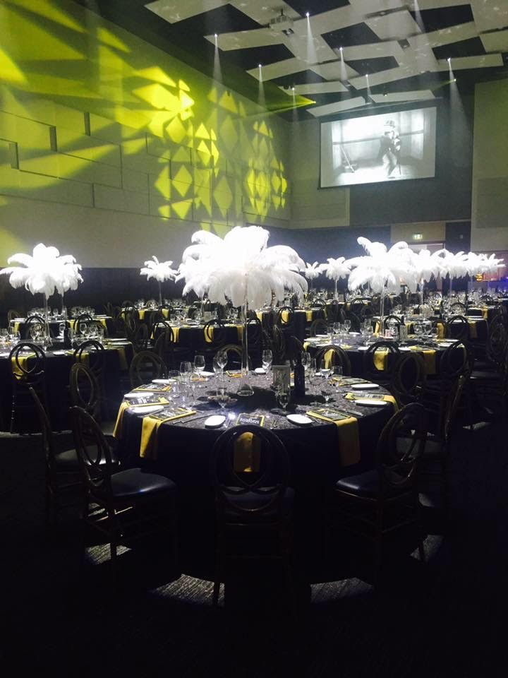 A hall for corporate event