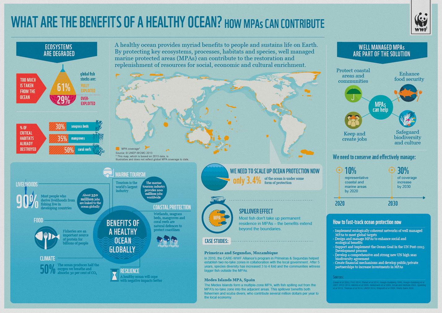 Benefits of a Healthy Ocean