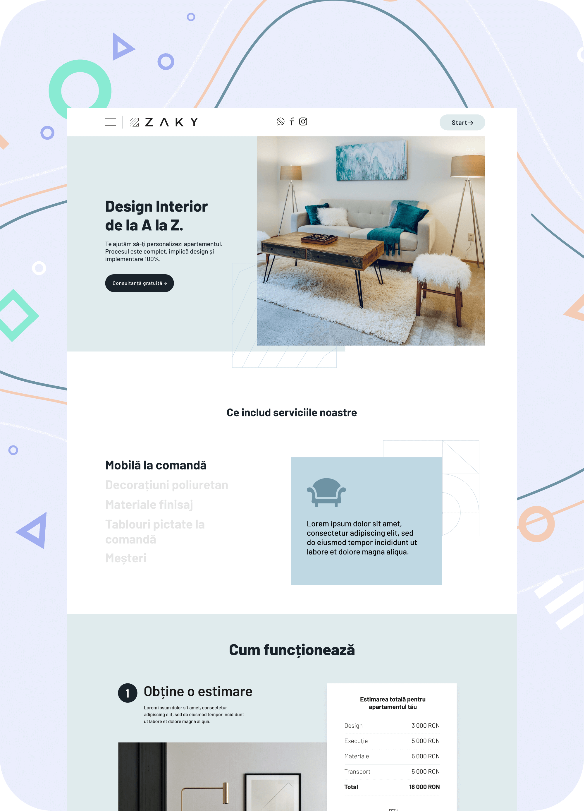 Zaky design alexyo Webflow development