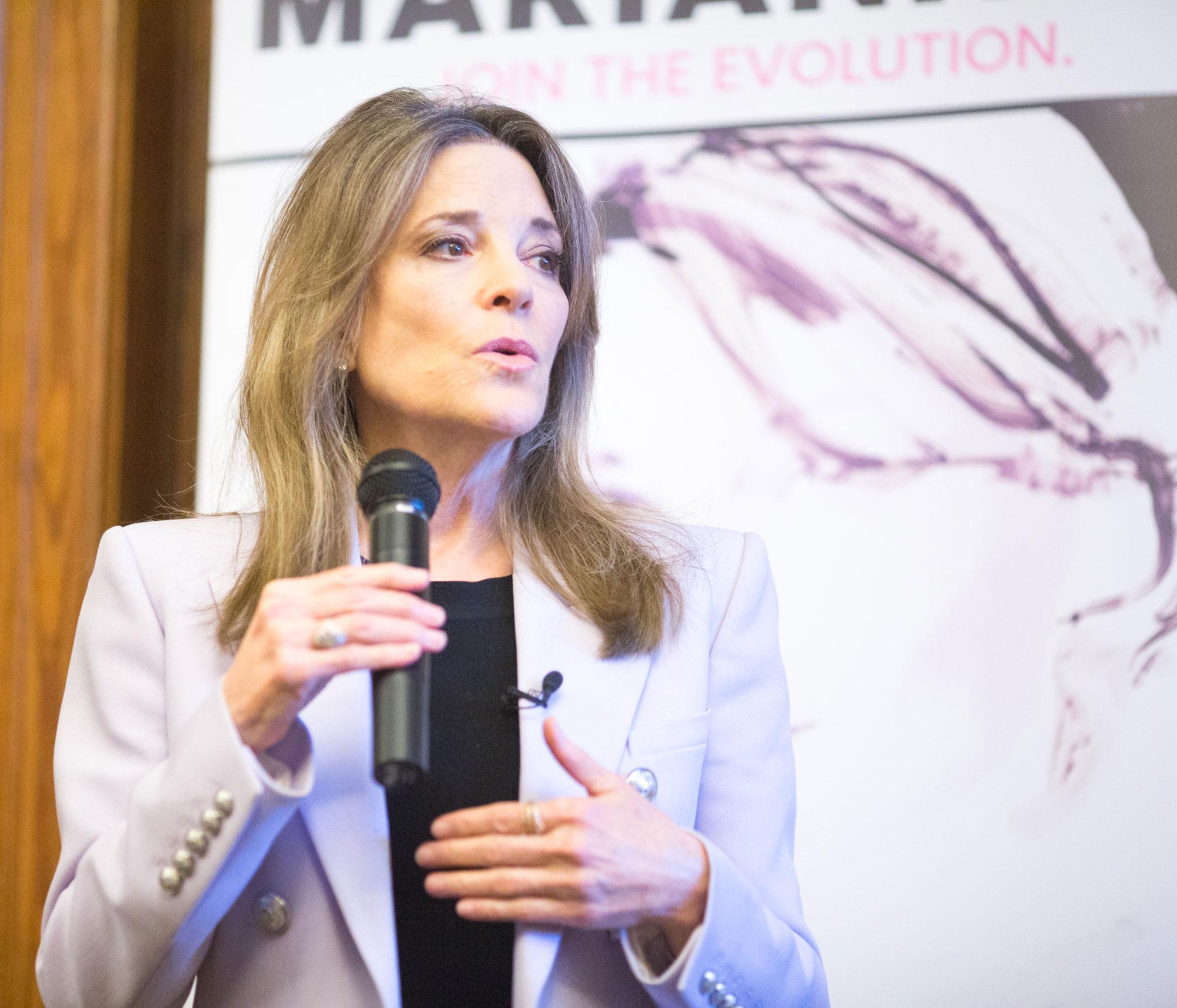 Immigration Reform News: Marianne Williamson Immigration Proposal: A Civilized Path