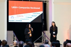 Joanne Lin presenting