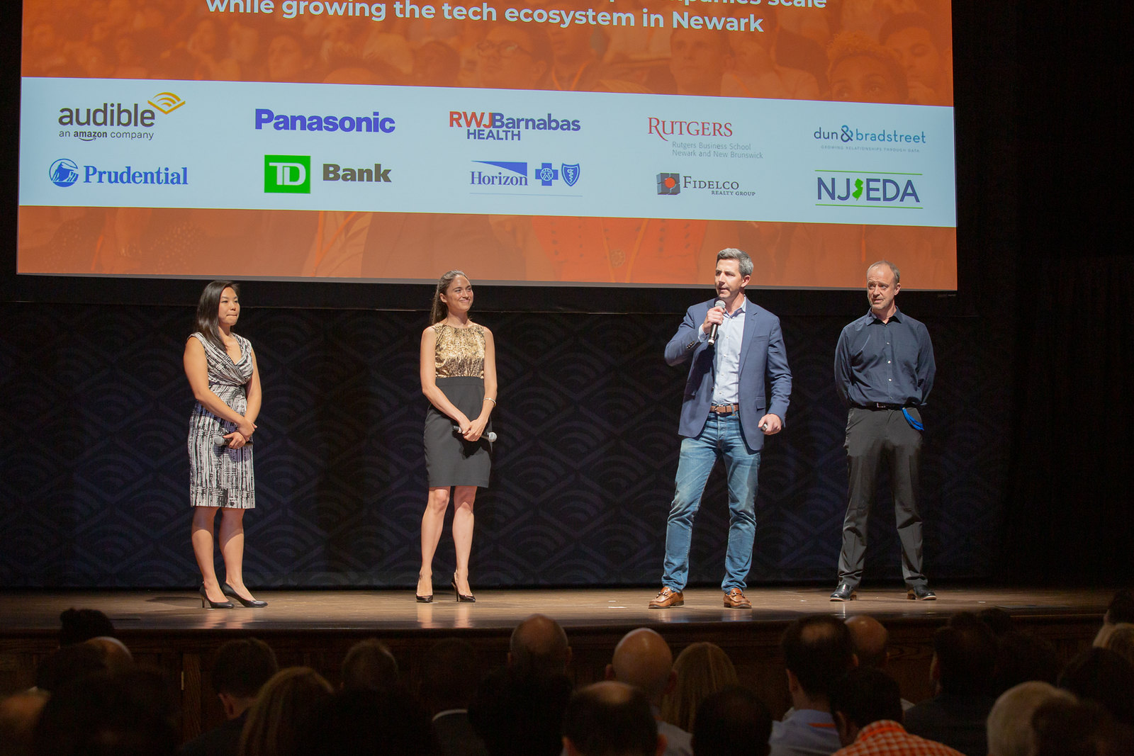 The NVPteam welcomes a crowd of founders, investors, corporate leaders and community stakeholders