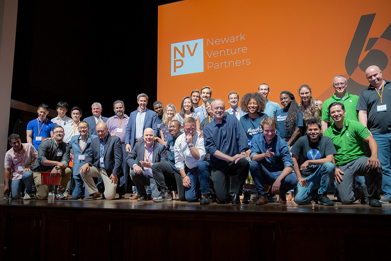 Founders at Newark Venture Partners Demo day