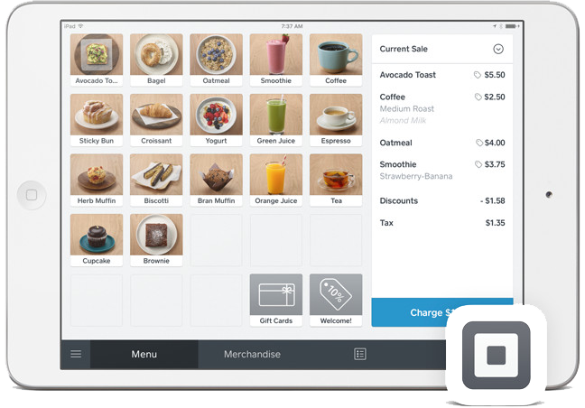 Square EPOS ordering integration