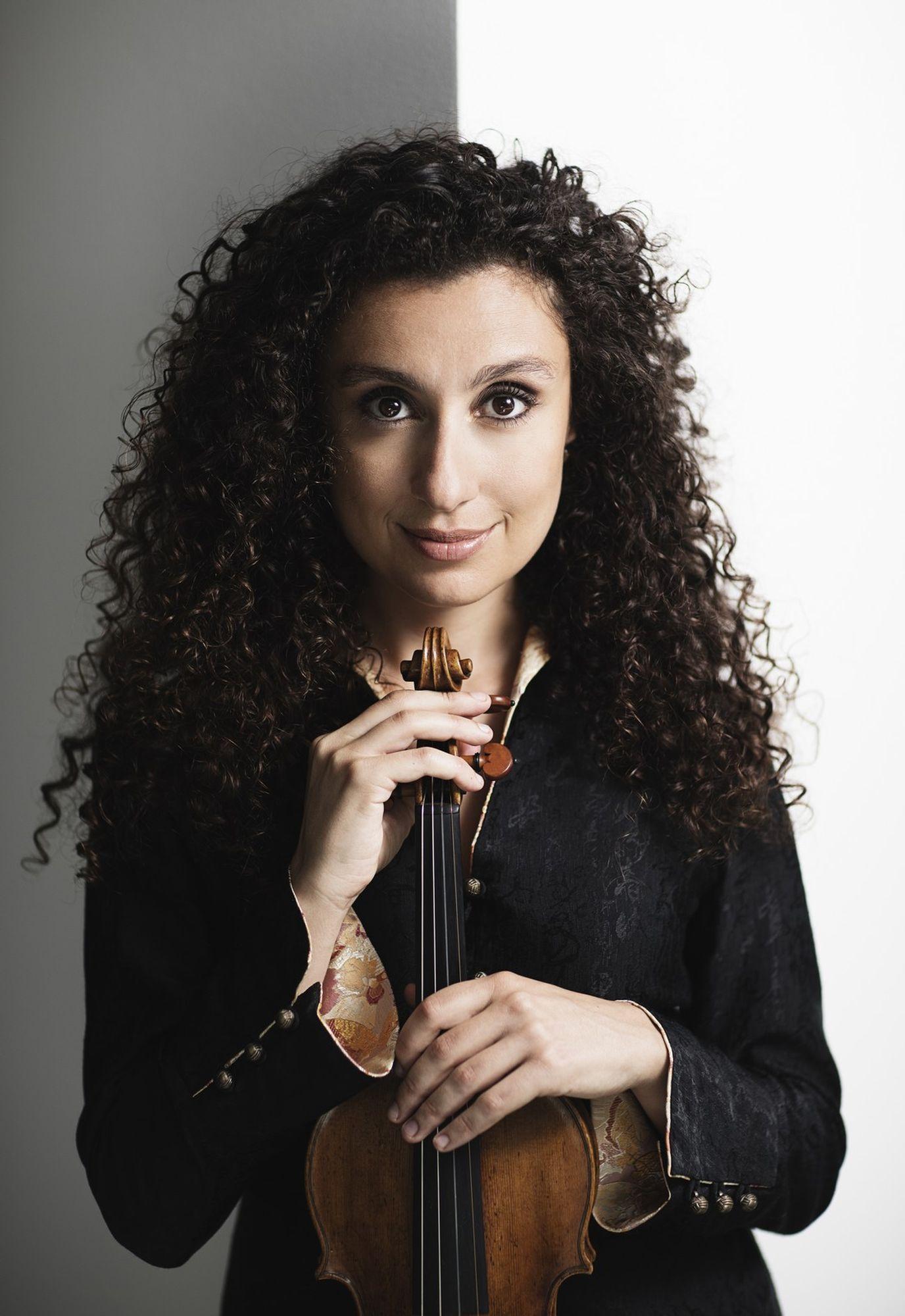 Chouchane Siranossian, violon & Nathanaël Gouin, piano