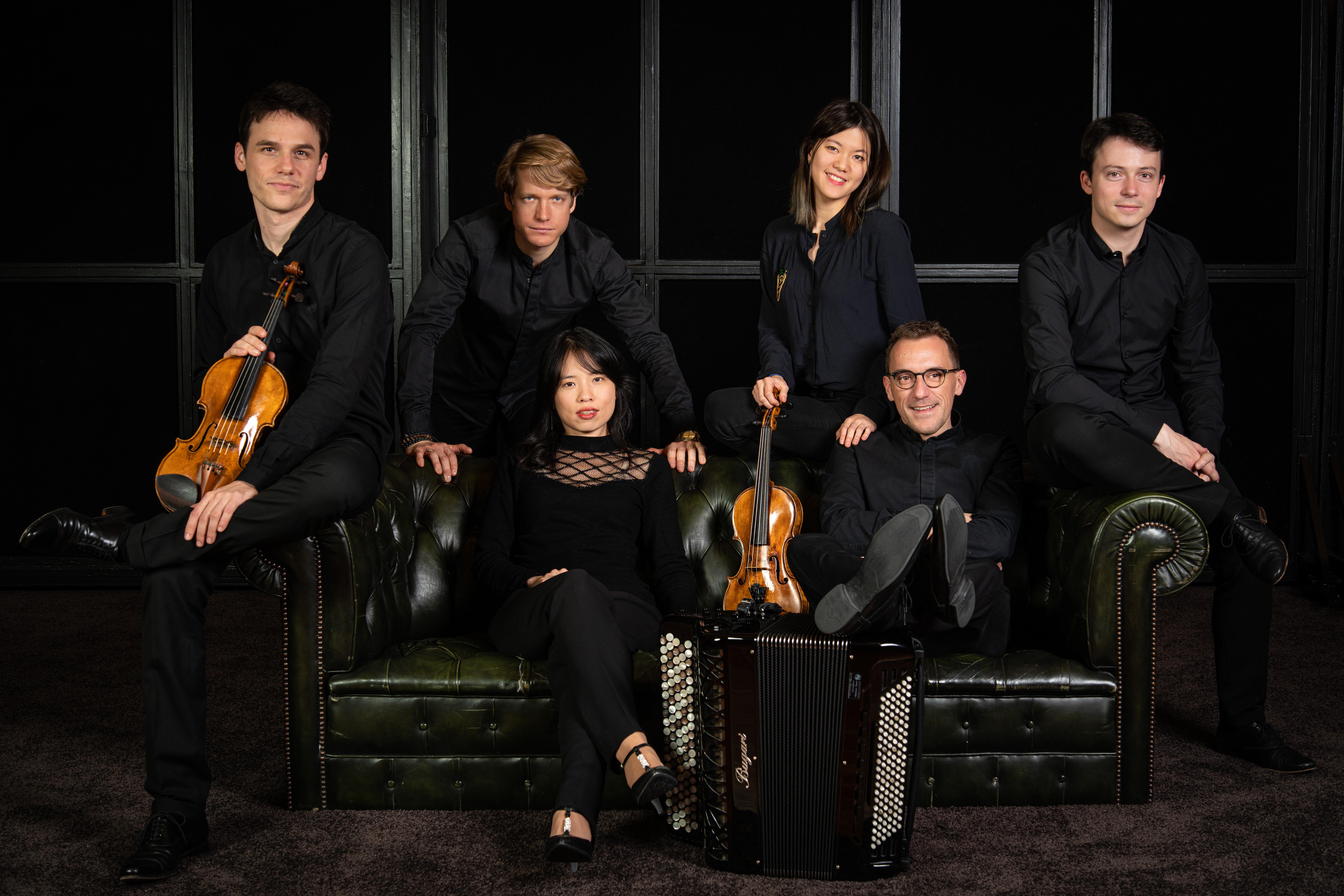 Félicien Brut & le Quatuor Hermès