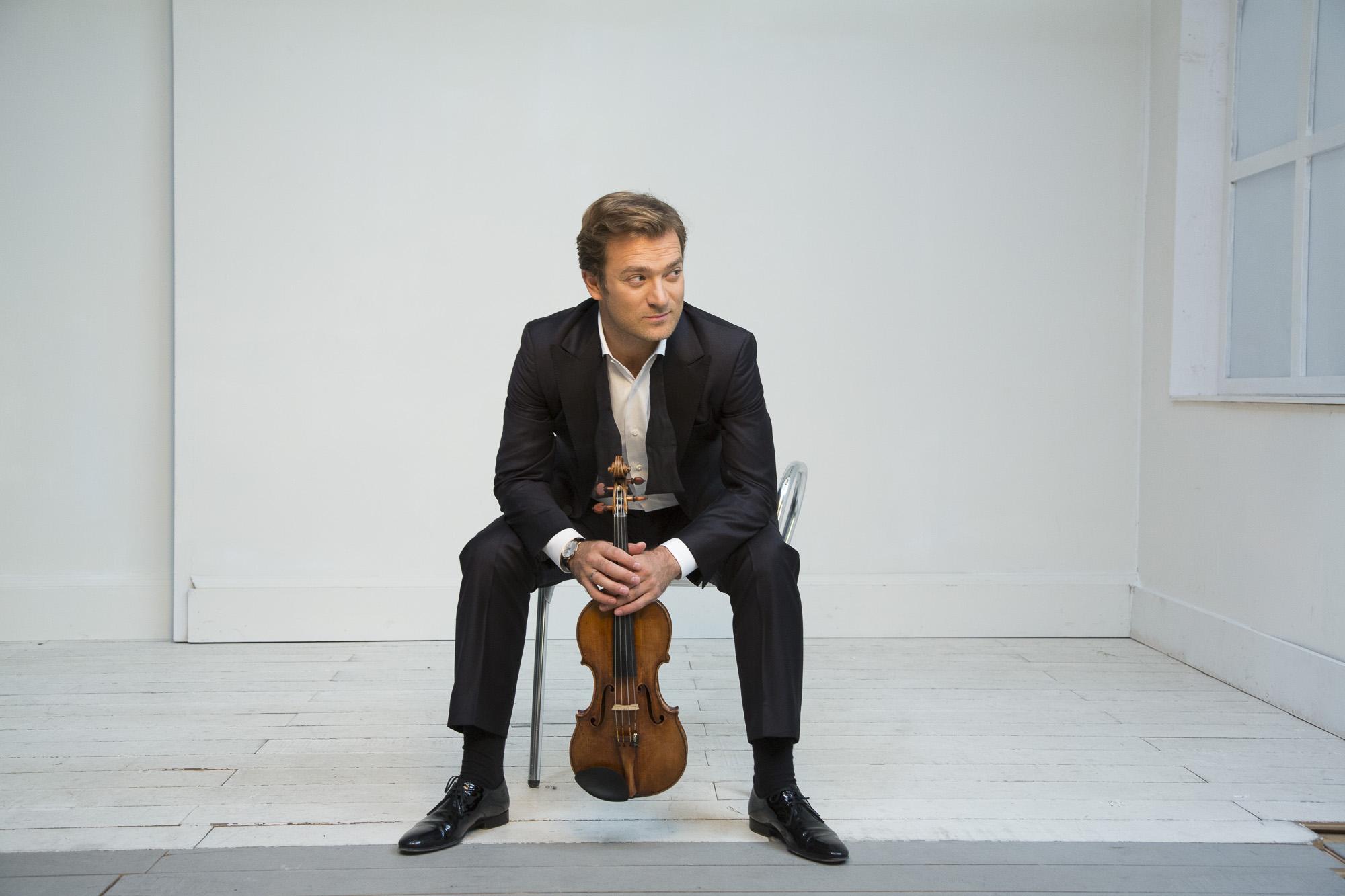 Renaud Capuçon, Stéphane Denève & le Brussels Philharmonic