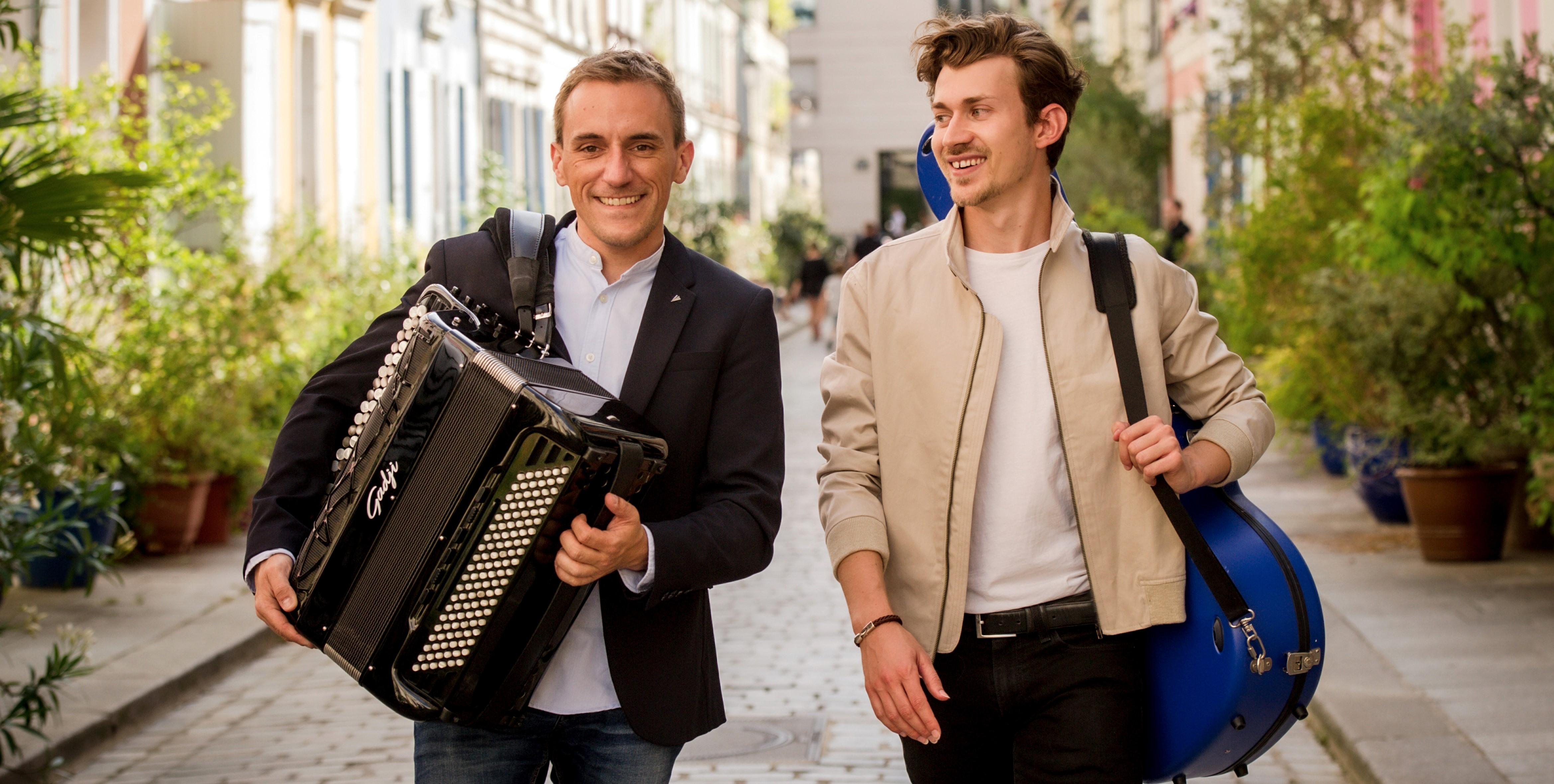 Félicien Brut & Thibaut Garcia