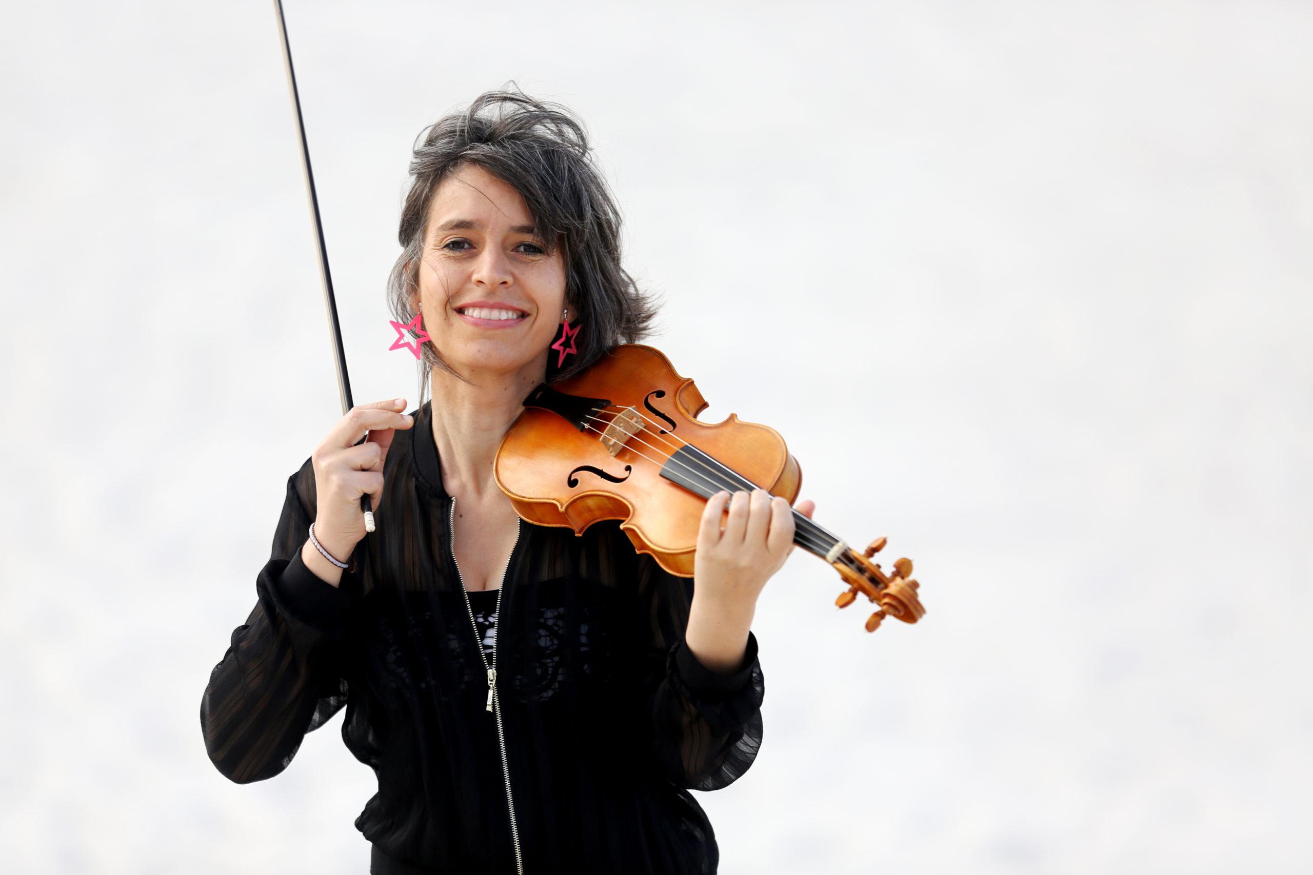 Amandine Beyer, l'Orchestre du Festival & Shirly Laub