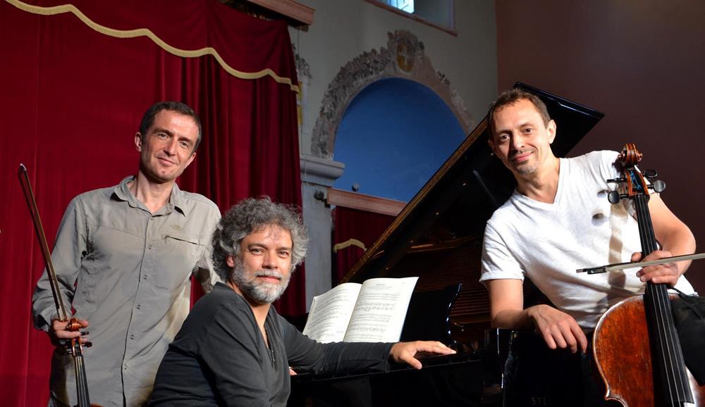 Tedi Papavrami, Xavier Phillips & François-Frédéric Guy 2