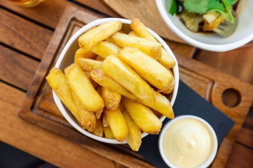 Skin on Fries (GF,VO)