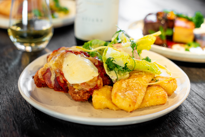 Keto Chicken Thigh Parmigiana (GF)
