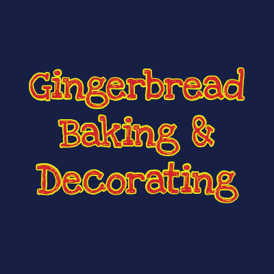 Gingerbread Person Baking and Decorating