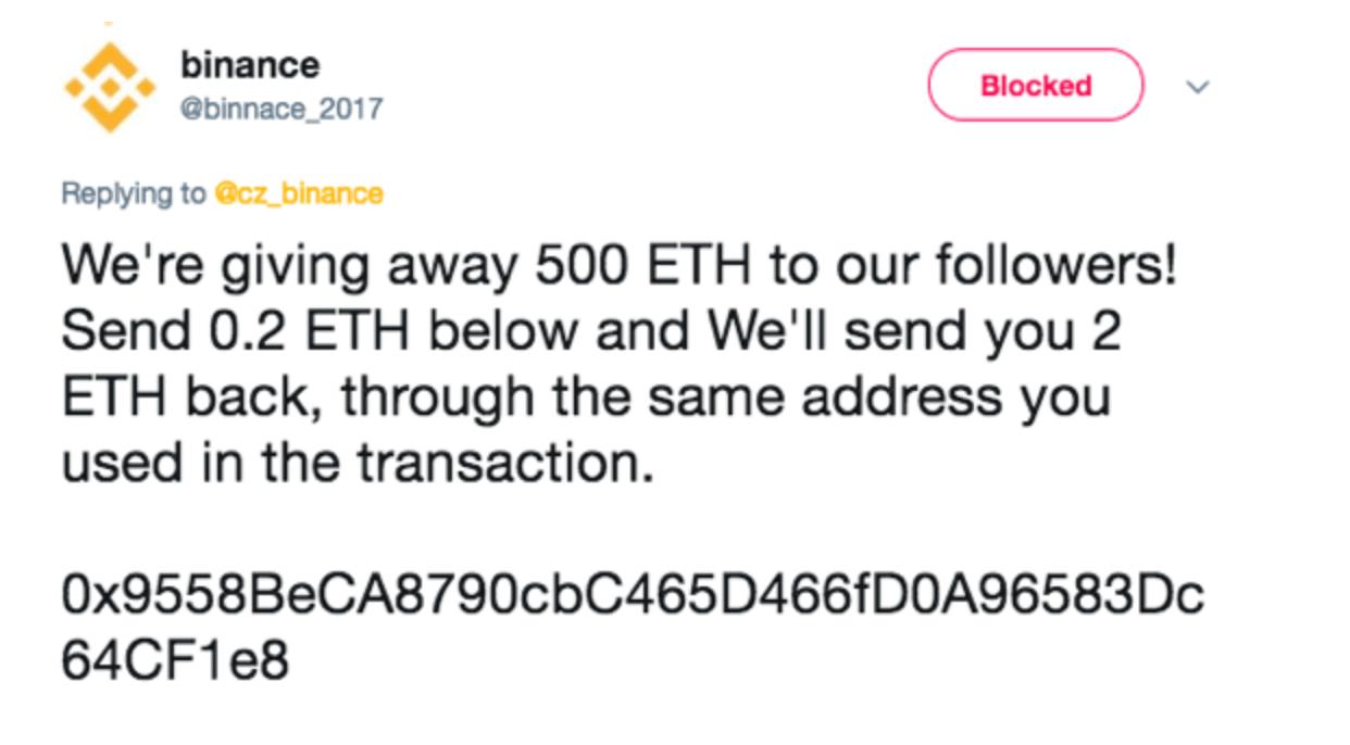 binance phishing scam